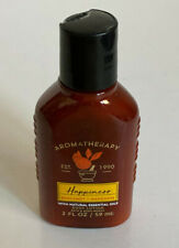 NEW! BATH & BODY WORKS AROMATHERAPY BODY LOTION HAPPINESS: BERGAMOT + MANDARIN