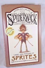 Spiderwick Chronicles Care and Feeding of Sprites Black Diterlizzi HC Poster