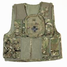 British army surplus MTP camo Osprey vest plus 7 pouches