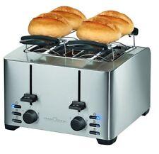 Tostapane 4 fette ProfiCook tosta pane fette PC-TA 1073 inox 1500W toast - Rotex