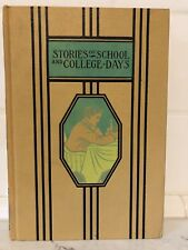 STORIES OF SCHOOL AND COLLEGE DAYS 1951 HC Young Folks Library VGC