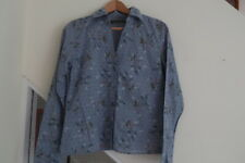 Ladies Simple Wish Blouse Ditsy Flowers 100% Cotton Size Medium
