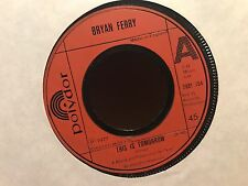 "7"" RARE VINYL - BRYAN FERRY - THIS IS TOMORROW - 1977 (Ex Roxy Music)"
