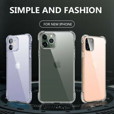 For iPhone 12 11 Pro XS Max 6 7 8 SE Soft Case Shockproof Slim Rugged Back Cover