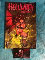 🔥 Hellwitch Hellbourne #1 🔥 Kickstarter Edition NM/HTF
