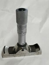 Depth Gauge With Starrett Micrometer Head No 463