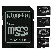 Kingston 16GB 32GB 64GB 128GB Micro SD HC Card Class 10 Flash Memory Card