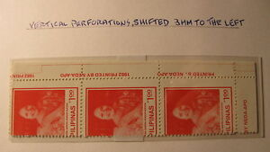 Philippines ERROR PERFS SHIFTED 3 MM TO THE LEFT