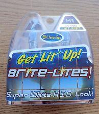 HARLEY LIGHT BULB H1 PAIR BLUE XENON H1 55w/100w Biker's Choice 223977