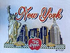 VINTAGE NEW YORK BIG APPLE T SHIRT MEDIUM