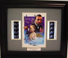 007 FROM RUSSIA WITH LOVE FRAMED FILM CELL JAMES BOND