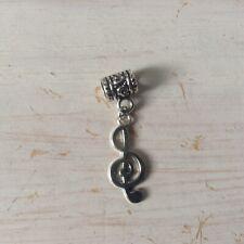 Treble Clef Dangle Charm For European Style Charm Bracelet 🇬🇧