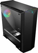 MSI - MPG GUNGNIR eATX Mid-Tower Case - Black/Light Gray