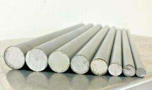 12L14 Steel Bar Stock Assortment 8 Round Bars See Description