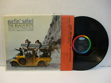 "B153: The Beach Boys ""Surfin' Safari"" Capitol T 1808 MONO VG+/VG+"
