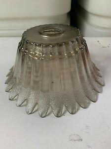 Lampenschirm aus Glas Ersatzschirm Retro Vintage Windlicht Schirm Lampe