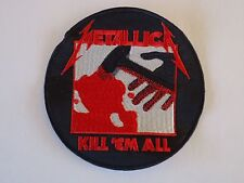 METALLICA KILL'EM ALL EMBROIDERED PATCH