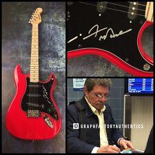 GFA Teen Idol Legend * FRANKIE AVALON * Signed Electric Guitar PROOF COA