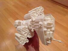 Babylon 5 Model Omega spaceship. Scale 1:4100. Unpainted. Assembled