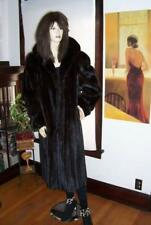 Mint PLUS SIZE Ranch Female Mink Skin Fur Coat X-Large