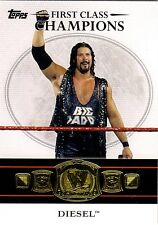 DIESEL  Topps 2012 * WWE FIRST CLASS CHAMPIONS * Insert Card #5 KEVIN NASH