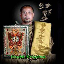 Butterfly Amulet Kruba Krissana Thai Magic Good Lucky Charm Wealth Talisman
