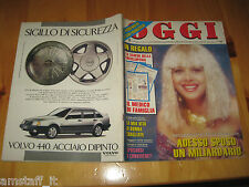 OGGI 1989/44=SANDRA MILO=PAUL McCARTNEY=OMBRETTA COLLI=CESARE ZAVATTINI=FLAVI M.