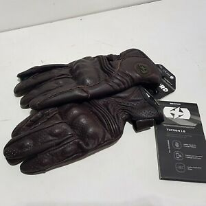 NEW Oxford Tucson 3XL 1.0 Leather Touring Motorcycle Motorbike Gloves BROWN