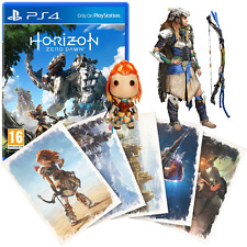 Horizon: Zero Dawn with Art Cards & Sack Girl Keyring | PlayStation 4 PS4 (New)
