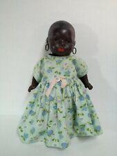 African American Black Bisque Head Doll Heubach, Koppelsdorf 399 Native Antique