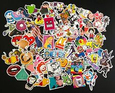 100 pcs random Skateboard Vintage Sticker Laptop Car Luggage Decal USA Seller
