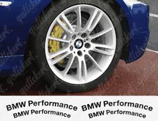 4x Bremssattel Aufkleber BMW Performance M Tuning Sticker Decal Brake Caliper