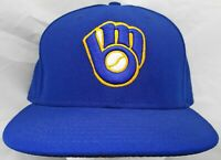 Milwaukee Brewers MLB New Era 59fifty 7&1/2 fitted cap/hat