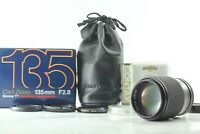 [ Mint Boxed ] Contax Carl Zeiss Sonnar 135mm f/2.8 T* MMJ CY Lens from JAPAN