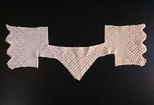 Antique Victorian Crocheted Yoke and Sleeves Trim