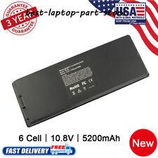 """Battery for Apple MacBook 13"""" inch A1181 A1185 MA254 MA255 MA699 MA561 Black"""