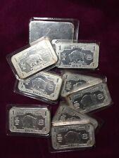 Buffalo Bison Silver United States 1 oz .999 Silver Bar UNC c2000 Element 47