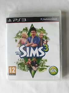 The Sims 3 Playstation 3 Game PS3 complete FREE SHIPPING
