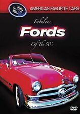 America's Favorite Cars Fabulous Fords of The 50s 801213504695 DVD Region 1