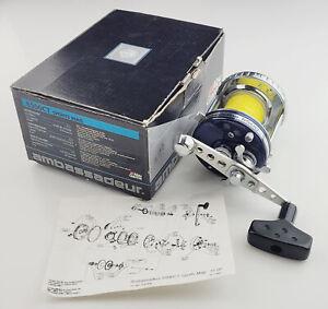 Abu Garcia Ambassadeur 6500CT Sports Mag BLUE Boxed Casting Reel 6500 CT