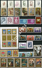 Yugoslavia 1970 Complete year commemorative MNH