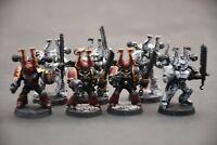 Warhammer  World Eaters Heads 50 pcs Handmade conversion
