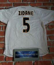 Wow Zidane Hombre Grande Real Madrid España 2004 2005 Raro Hogar Camiseta De Fútbol