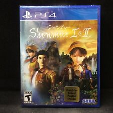 Shenmue I & II 1 & 2 (PlayStation 4) BRAND NEW Region Free / In Stock