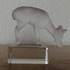 LALIQUE FRANCE Skulptur REH / REHKITZ / KITZ  !!!