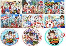 Cialda - Ostia per torte Yo-Kai Watch yokai formato A4 o A3! Anche tonda!