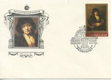 ENVELOPPE 1° JOUR / FIRST DAY COVER RUSSIA / RUSSIE / ART / TABLEAU CELEBRITE