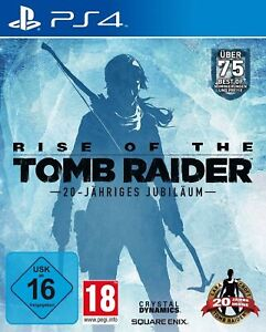 Rise of the Tomb Raider - 20 jähriges Jubiläum für Playstation 4 PS4 | NEUWARE |
