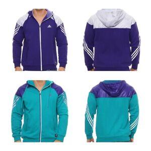 Adidas Herren Hoodie Hoody Jacke Kapuze Kapuzenjacke Trainingsjacke Suit P8652