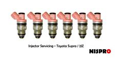 Fuel Injector Servicing Toyota 1jz/2jz side feed OEM stock injectors x1